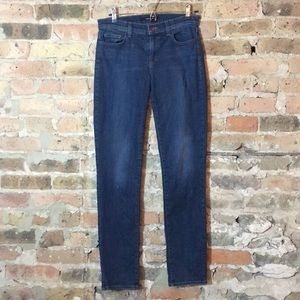 J Brand Jude distressed jeans size 27 in storm